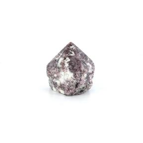 Lepidolite Rough Polished Point 3