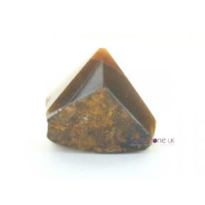Tiger Eye Rough Polished Point 0.1