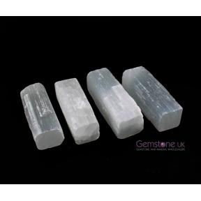 Selenite Rough Sticks - Small