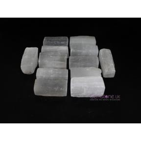 Selenite Rough Sticks - Mini - X Grade