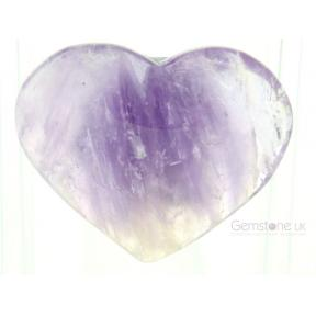 Amethyst Heart - Large