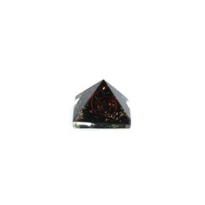 Tourmaline, Black Orgone Pyramid 25
