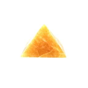 Orange Calcite Pyramid 80mm