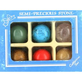 Mixed Crystal Mini Spheres - Boxed 25mm