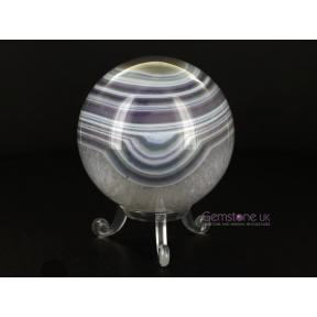 Agate, Purple Sphere