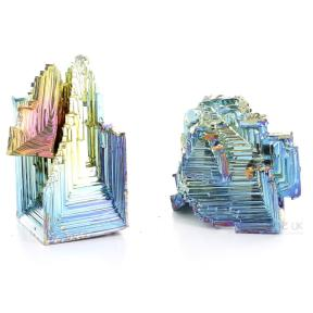 Bismuth Hopper Crystals - Medium