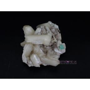 Stilbite with Apophyllite and Heulandite Crystal - 1